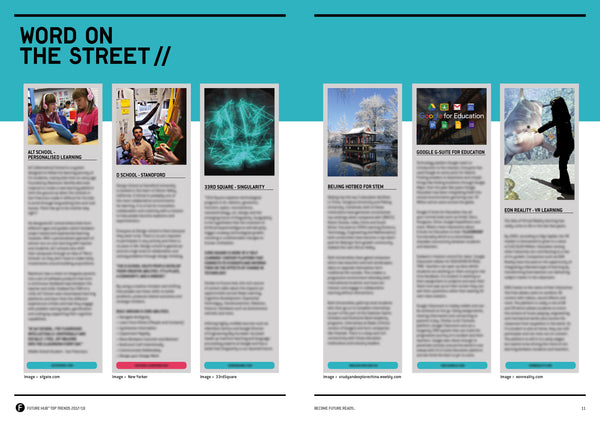 FUTURE HUB™ FUTURE EDUCATION DIGITAL TREND MAG 2017/18