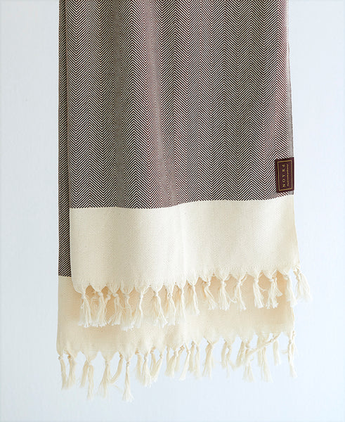 Hand made Peshtemal towel organic cotton