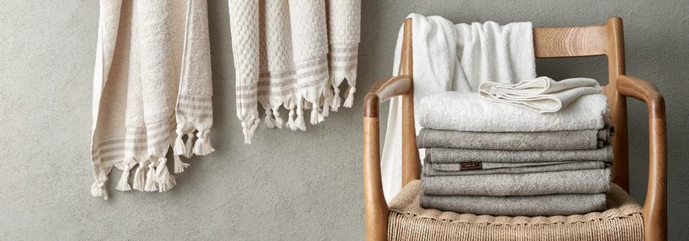 Handcrafted organic bathrobes