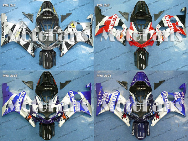 Fairing Kit for Suzuki GSX-R1000 00-02 (P/N: 2c)