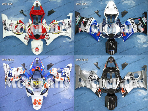 Fairing Kit for Suzuki GSX-R1000 03-04 (P/N: 2d)