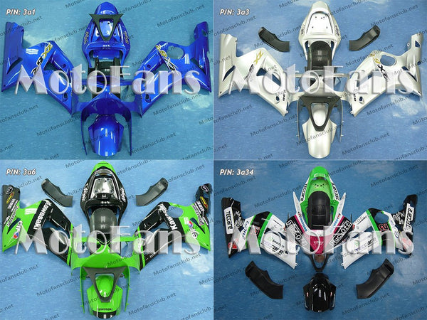 Fairing Kit for Kawasaki ZX-6R 03-04 (P/N: 3a)