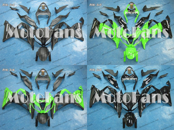 Fairing Kit for Kawasaki ZX-6R 13-17 (P/N: 3v)