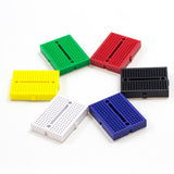 Colourful mini breadboard