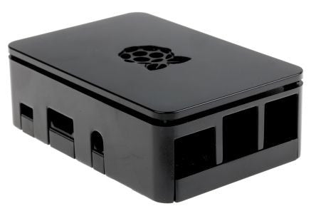 RS Pro Raspberry Pi 3 Case, Black