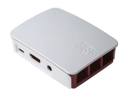 Official Raspberry Pi 3 B Case, Red, White