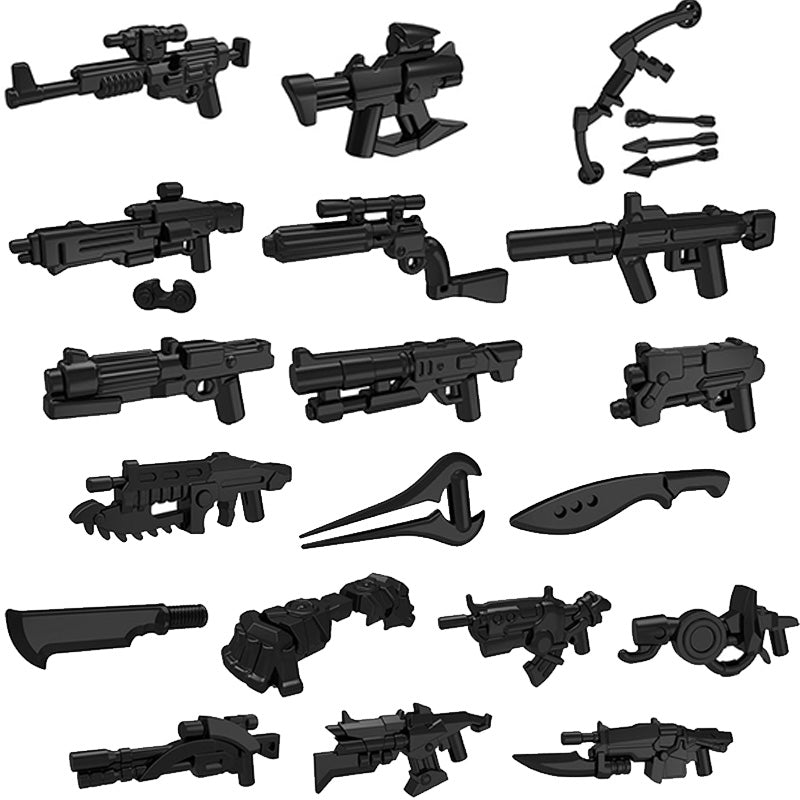 Lego MultiGame Weapon Collection (Halo, Gears, God of War +More)