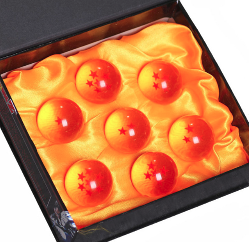 Dragonball Z Set of 7 Dragonballs