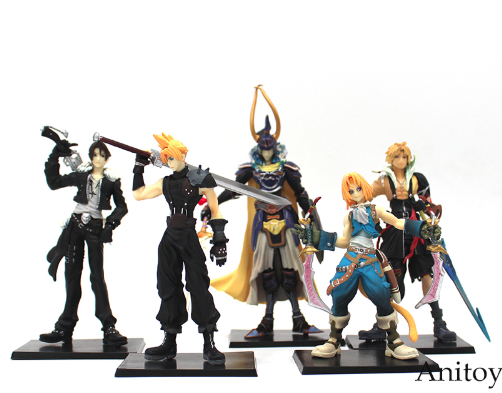 Final Fantasy 5 Piece Figure Set