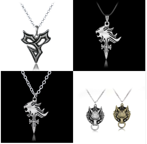 Final Fantasy Necklaces (4 Styles)