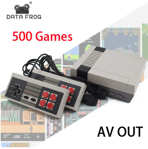 DataFrog 500 Game Console (No Repeats)