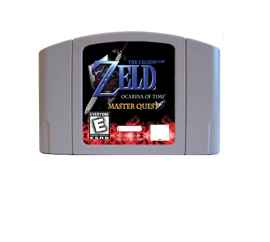 The Legend of Zelda Ocarina of Time Master Quest N64 Adaptation