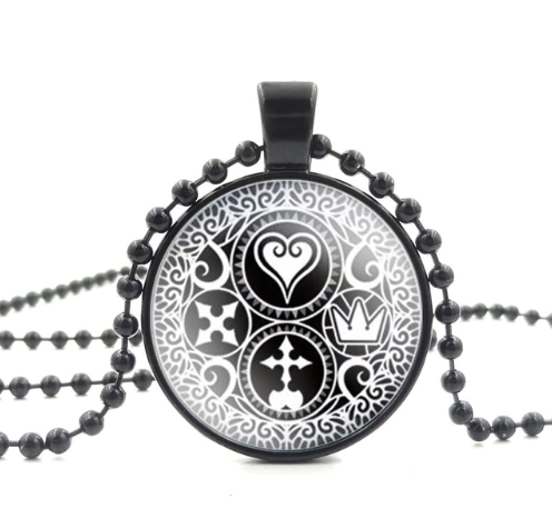Kingdom Hearts Ultimania Trinity Necklace/Watch