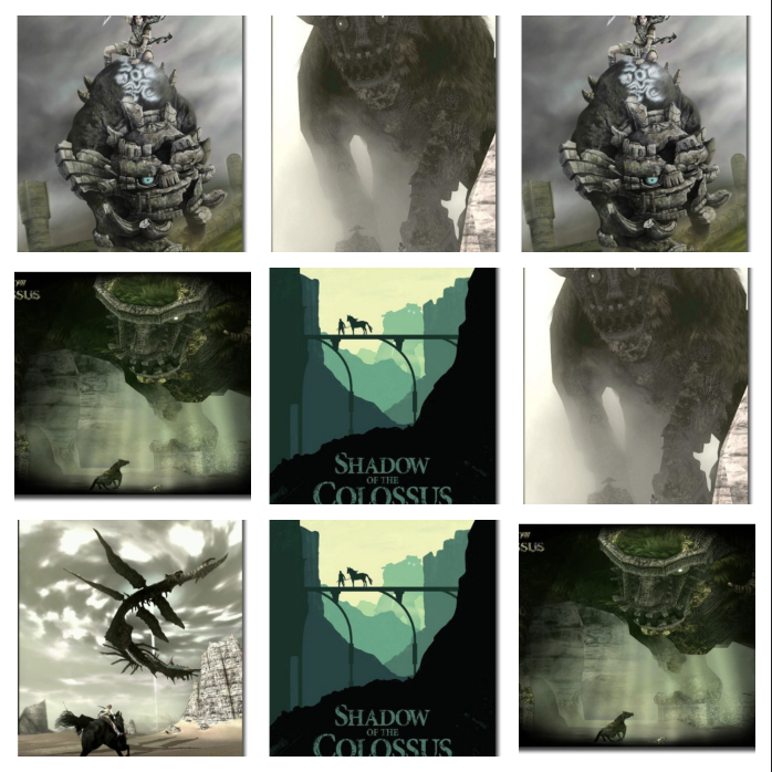 Shadow of the Colossus Fabric Posters
