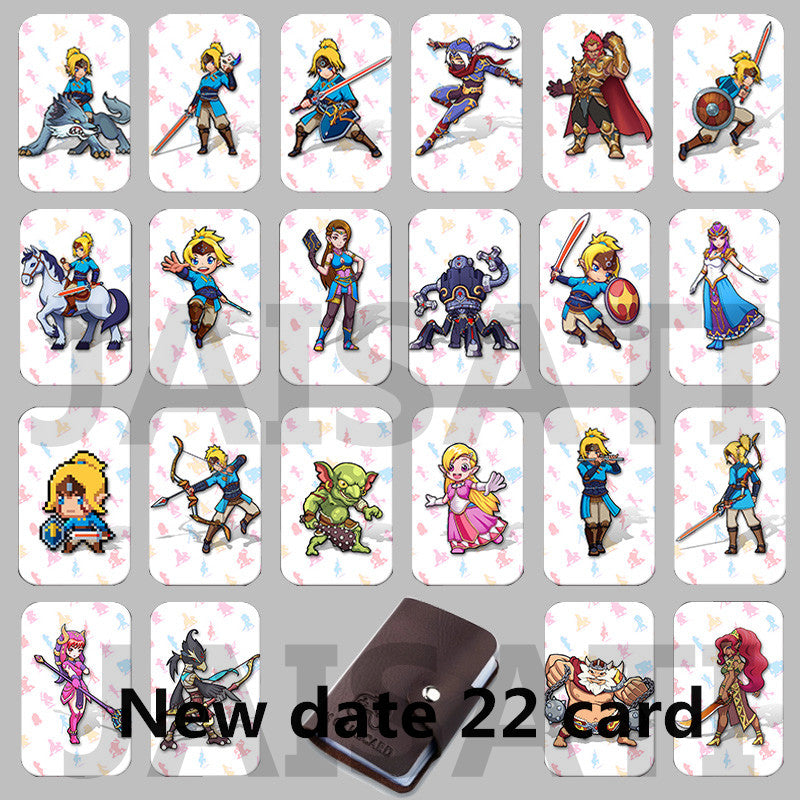 Legend of Zelda NFC Data Card Lot for Breath of the Wild on Switch (22 Cards)