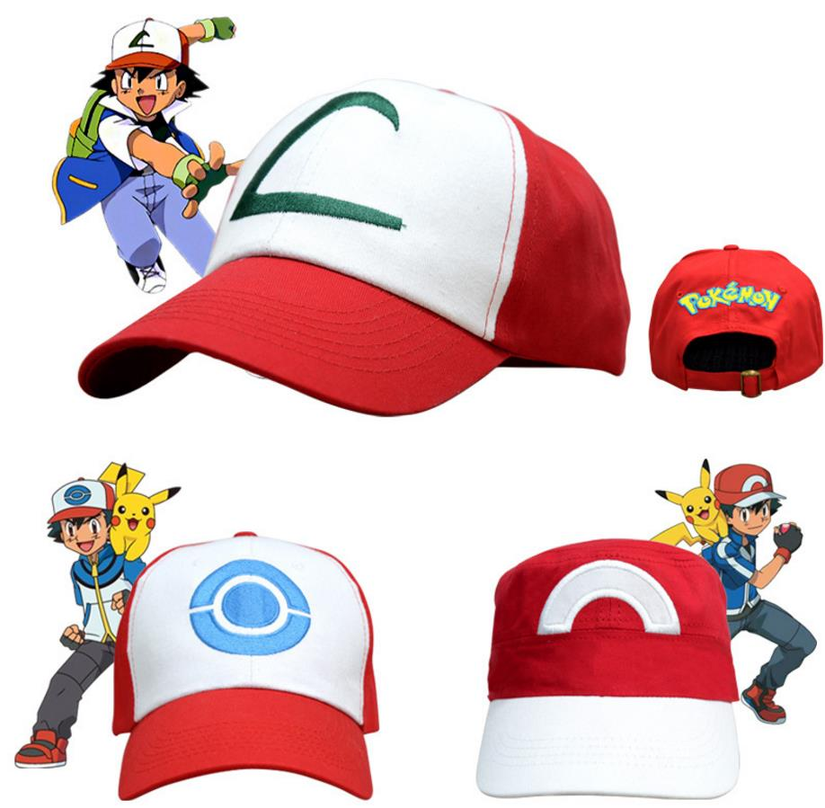 Pokemon Trainer Hats