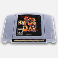 Conker's Bad Fur Day N64 Reproduction Cartridge