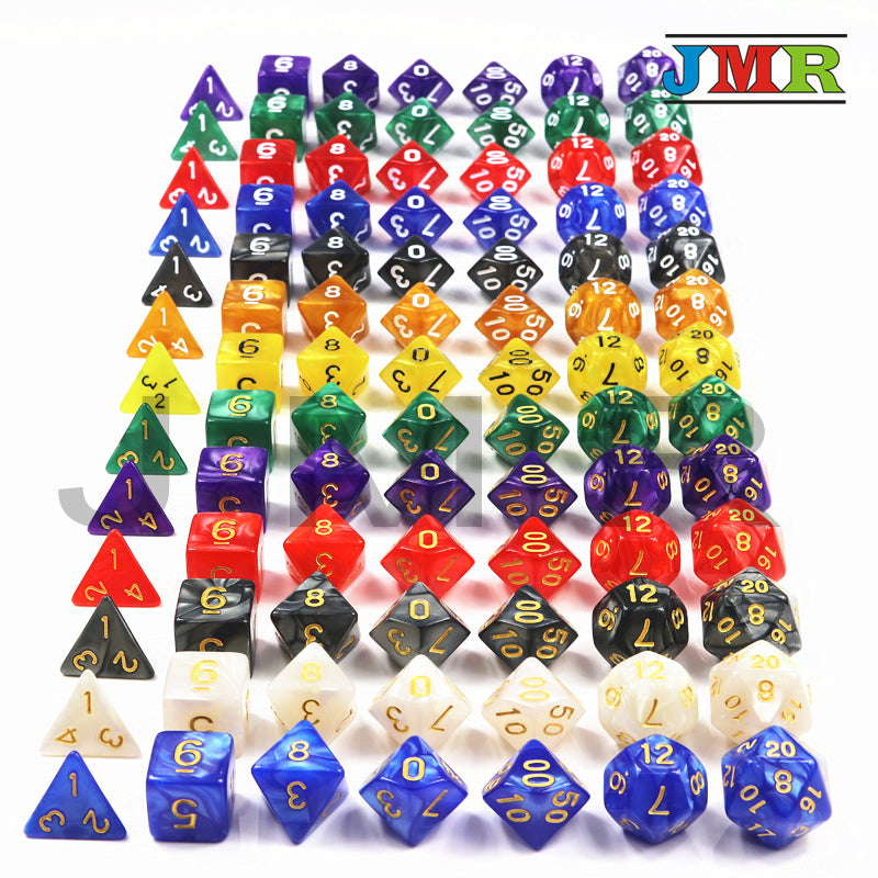 DND Board Game Dice Set (7 Pcs)