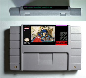 Fire Emblem: Genealogy of the Holy War SNES Game (Reproduction)