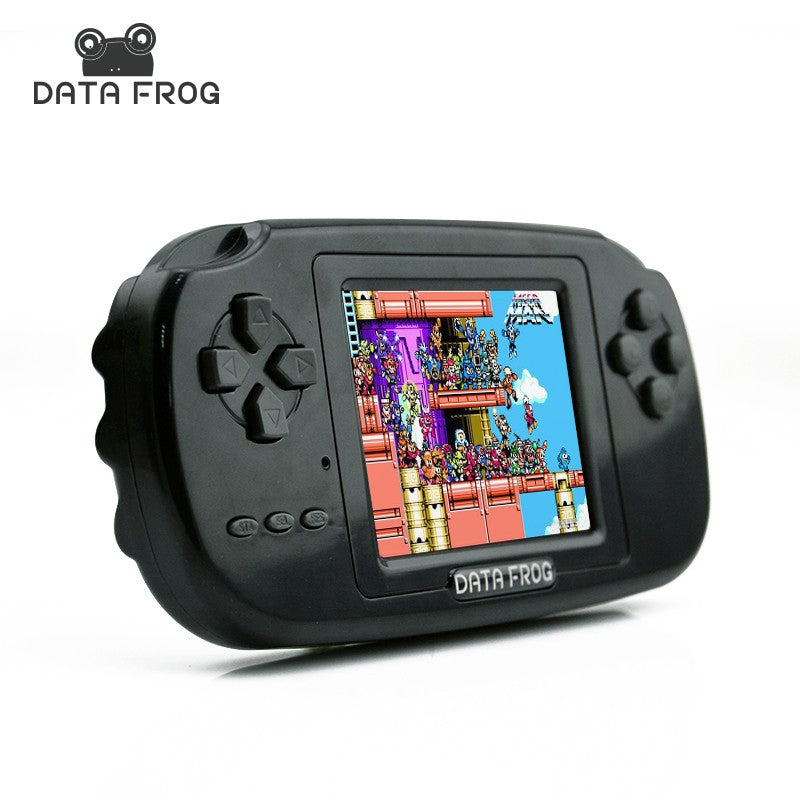 DataFrog Portable Handheld Gaming Console with 168 Built-in Games (no repeats)