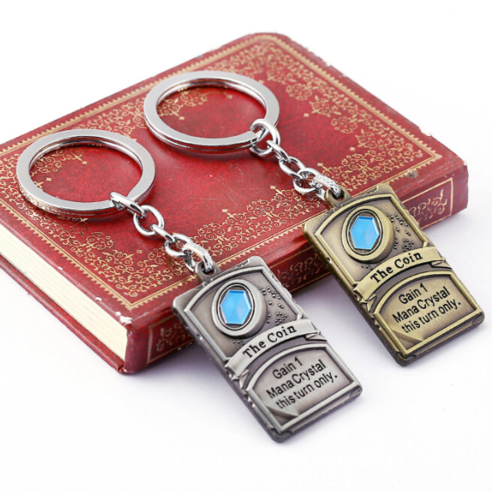 "Hearthstone ""The Coin"" Card Keychain"