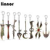 League of Legends Weapons Keychains (11 Weapons)