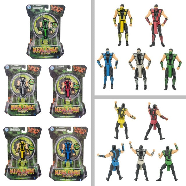Mortal Kombat Toy Figures