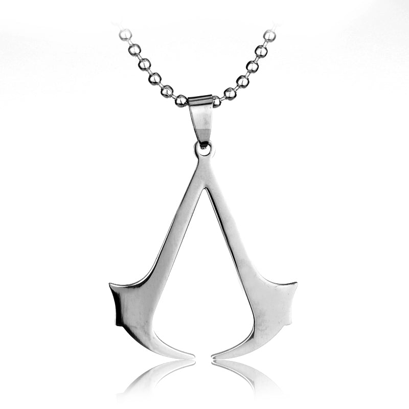 Assassin's Creed Pendant on Steel Ball Chain