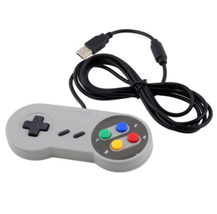 Super Nintendo Retro USB Gaming Controller