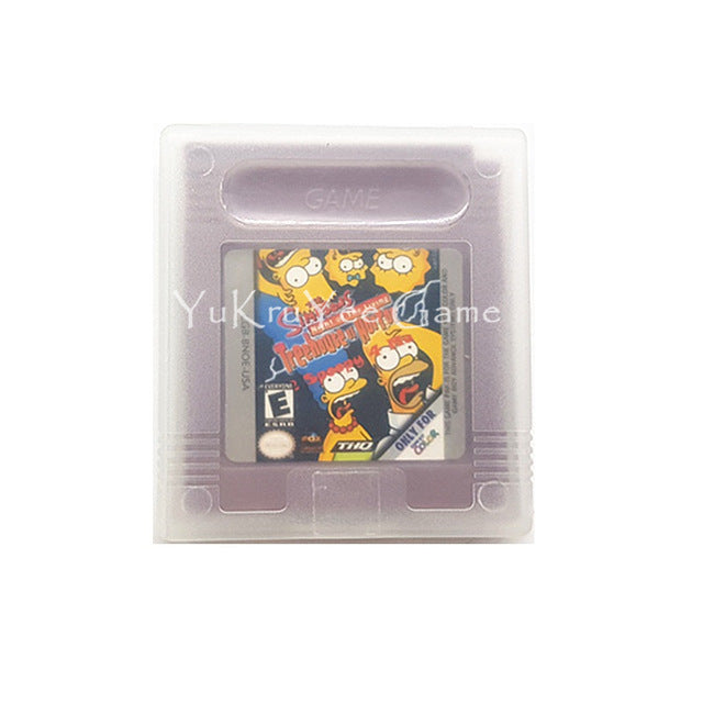 Simpsons the Night of the Living Treehouse of Horror Video Game (Game Boy)
