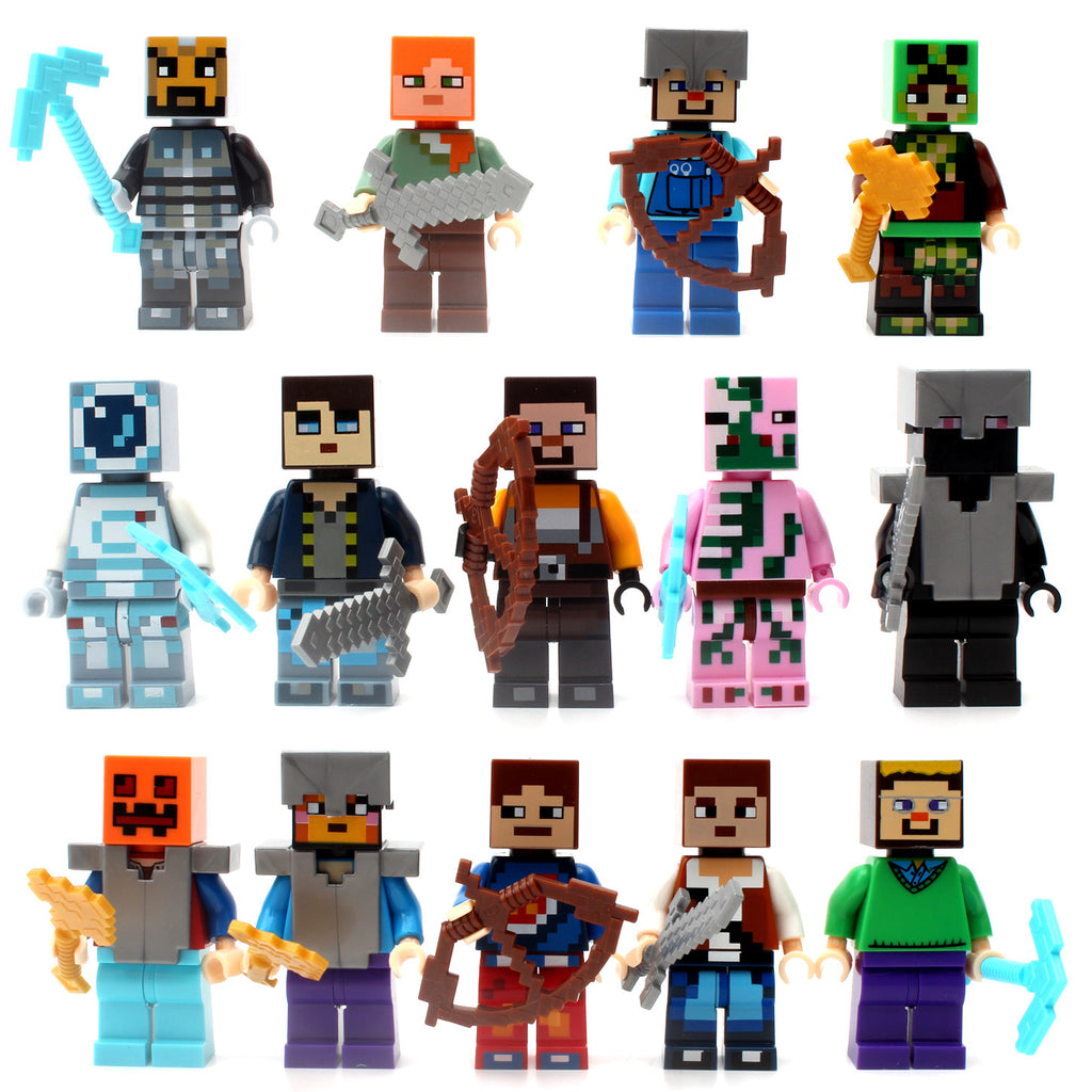 Minecraft Building Blocks Figures
