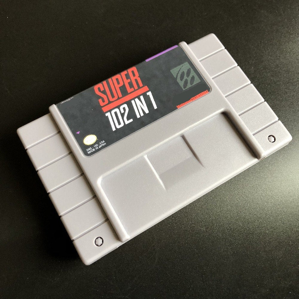 102 Games in 1 Super Nintendo Cartridge, No repeats