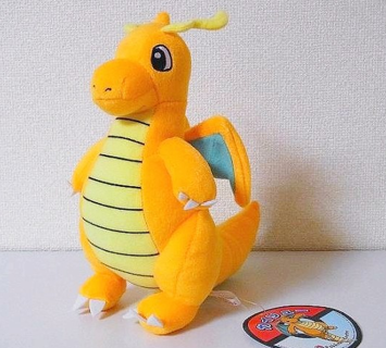 dragonite pokemon plush