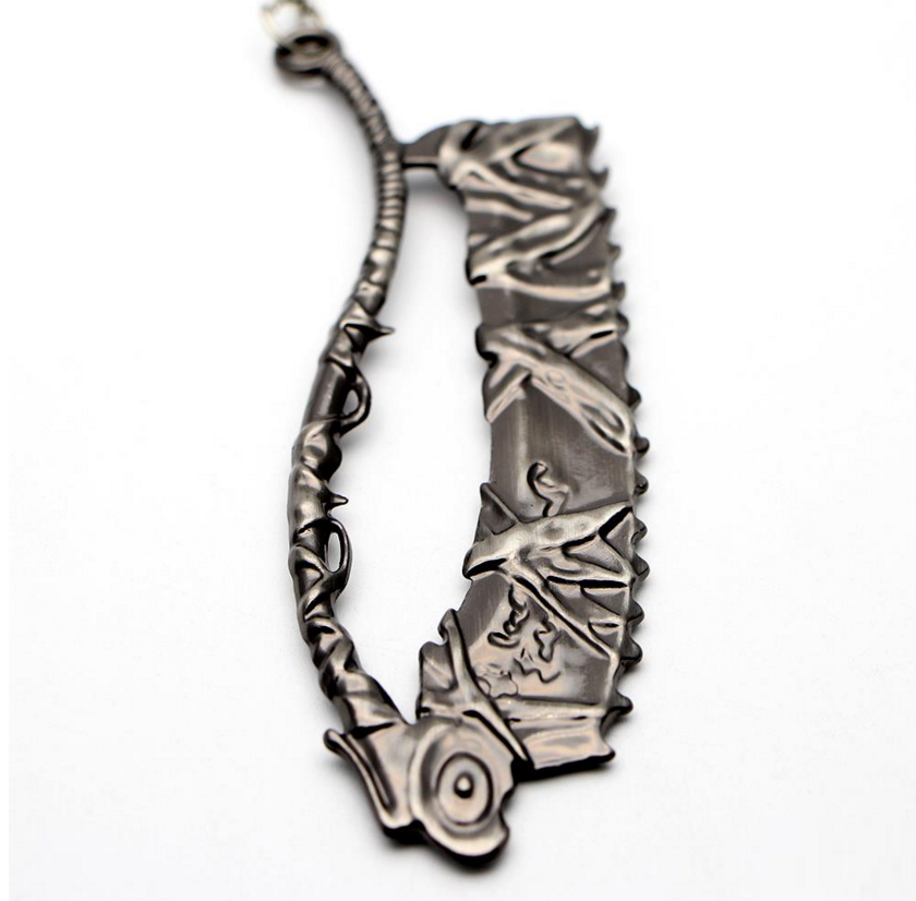 Bloodborne Saw Cleaver Keychain