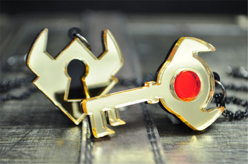 Legend of Zelda Boss Key + Lock Necklace Set (Ships to US Only)