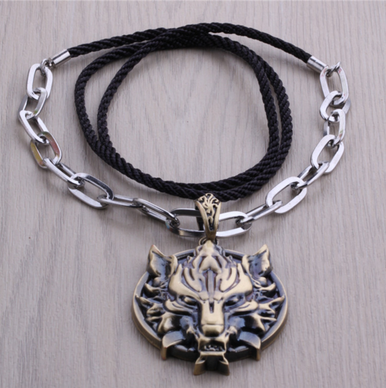 Final Fantasy VII Fenrir Necklace