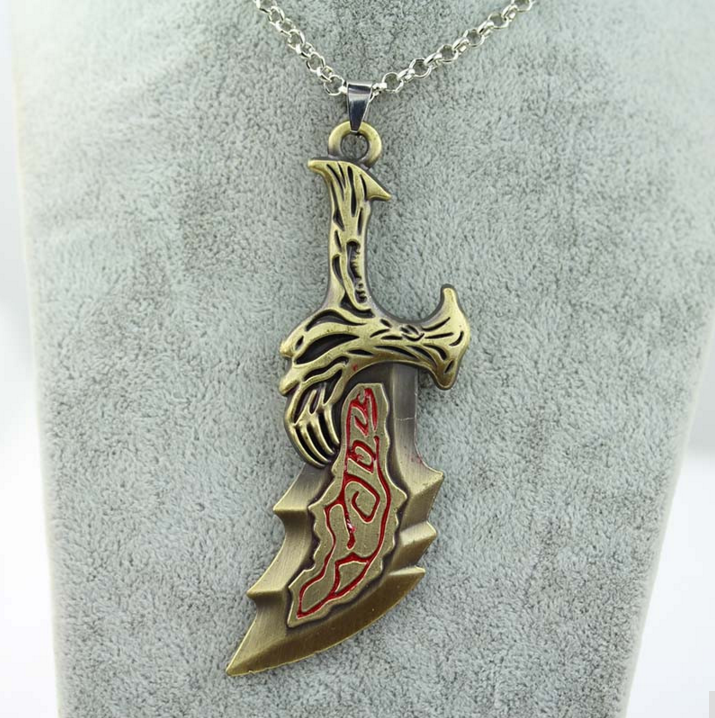God of War Blades of Chaos Necklace