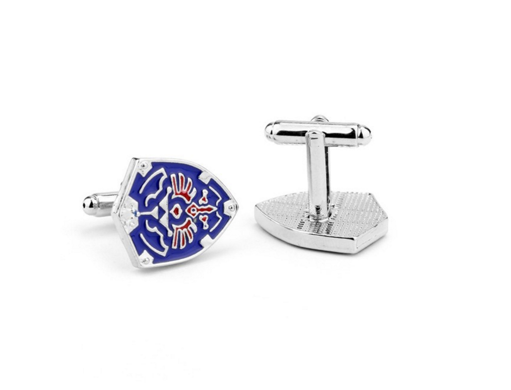 Legend of Zelda Hylian Shield Cufflinks
