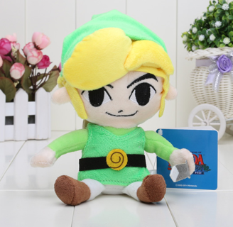 Legend of Zelda Toon Link Plush (8 Inches)