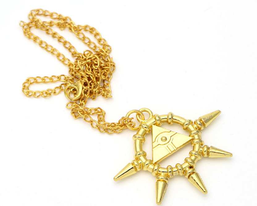 Yu-Gi-Oh! Millennium Ring Necklace