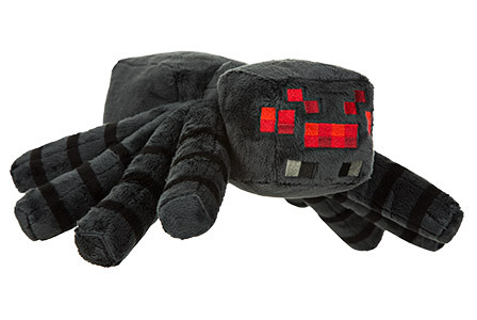 minecraft spider plush