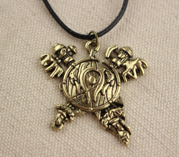 World of Warcraft Orcish Horde Necklace