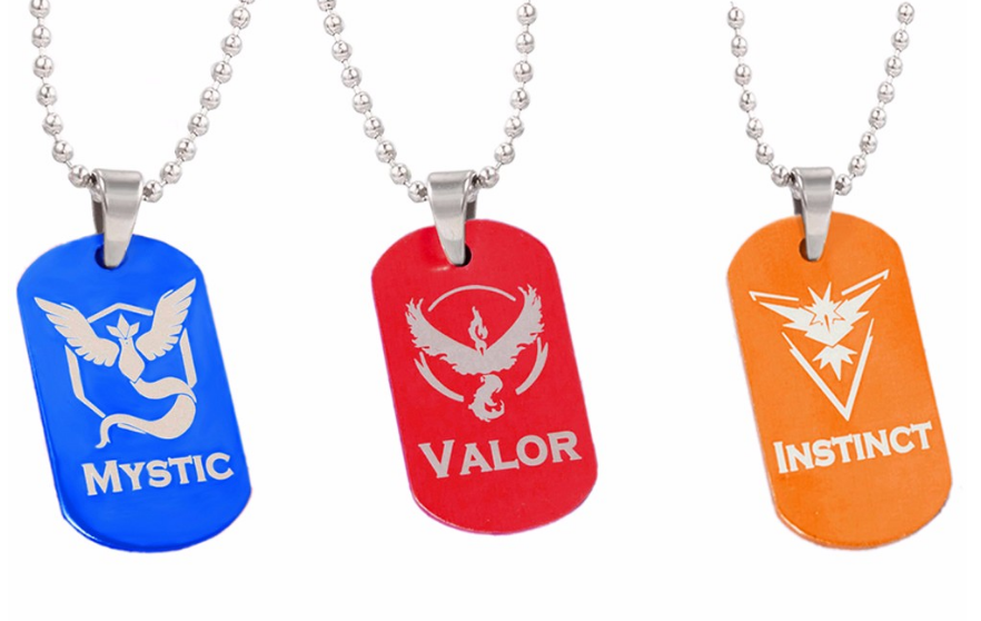 Pokemon GO Dog Tags