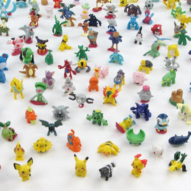 Pokemon Miniature Figures