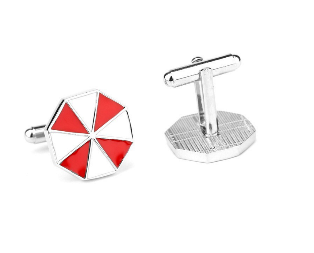 Resident Evil Umbrella Corp Cufflinks