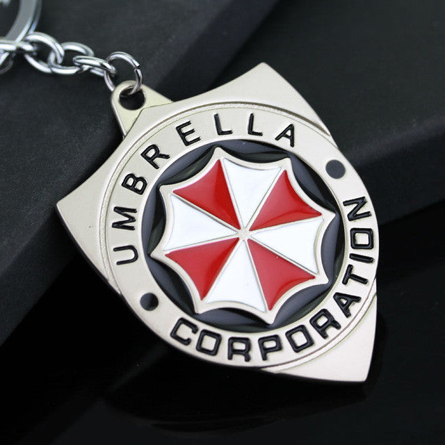 Resident Evil Umbrella Corporation Keychain