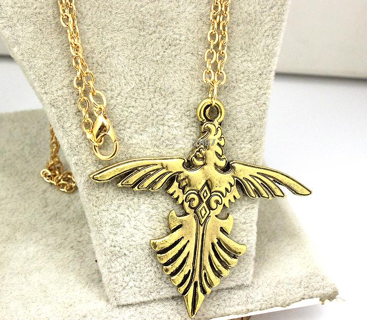 Final Fantasy Suzaku Coat of Arms Necklace
