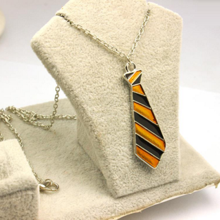 Harry Potter Hufflepuff Tie Necklace