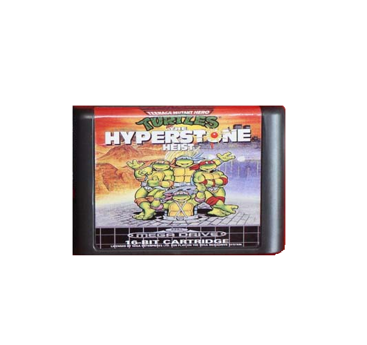 Teenage Mutant Ninja Turtles: The Hyperstone Heist Sega Genesis/Mega Drive