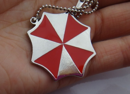 Resident Evil Umbrella Corp Necklace